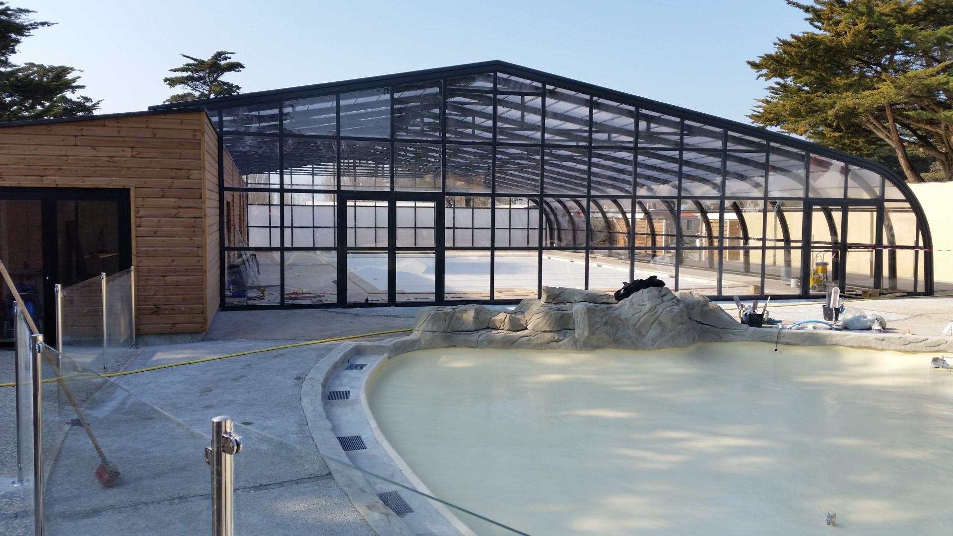 Cubierta de piscina Fija Carla