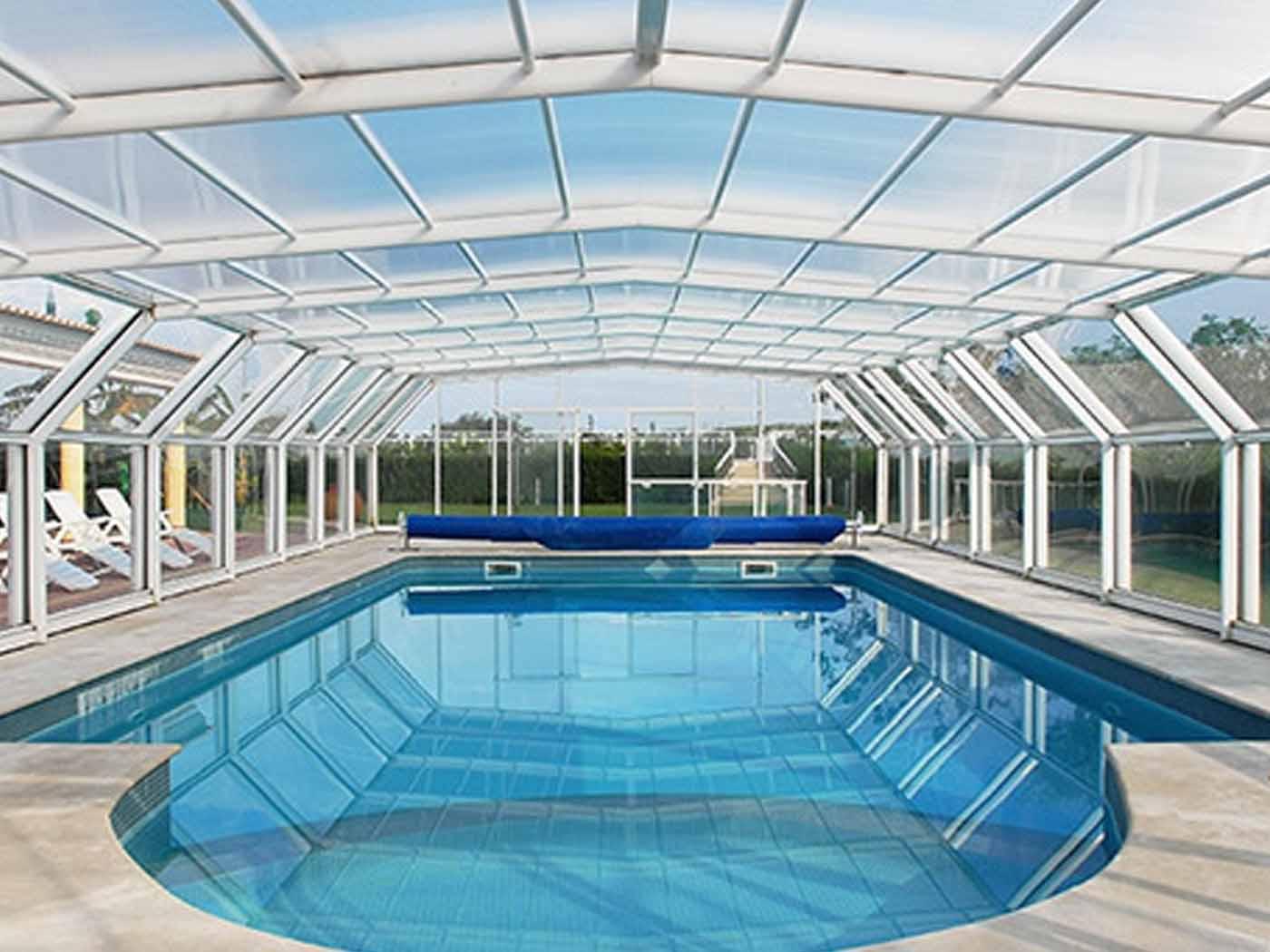Cubiertas de piscinas de Grandes Dimensiones