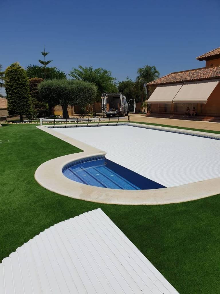 Cobertor de lamas para piscinas